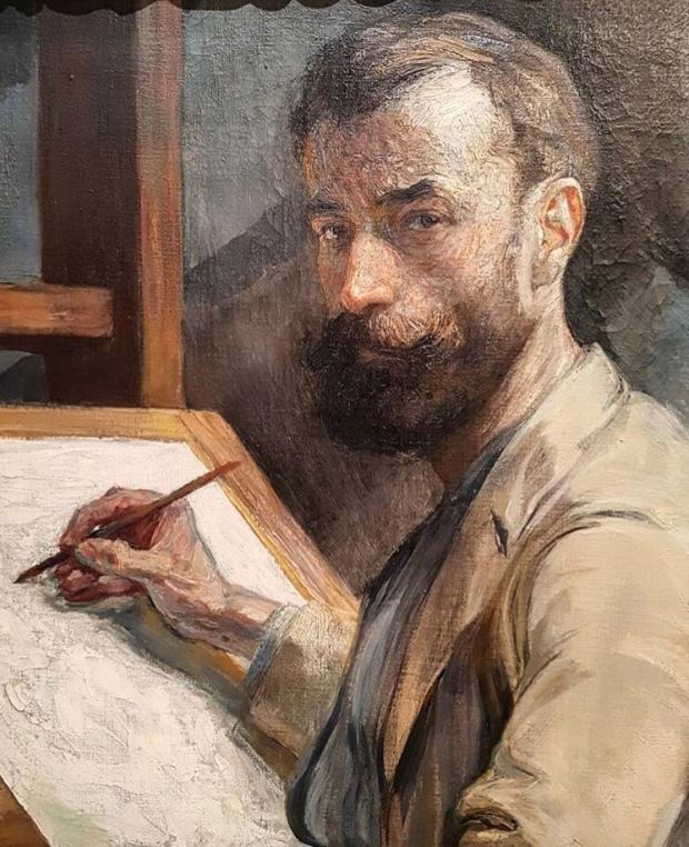 Kupka, autoportrait