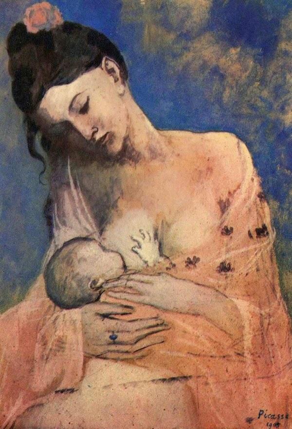 Exposition : Picasso, bleue et rose