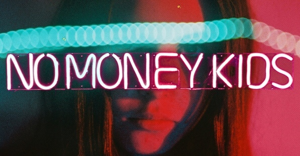 "Pochette de l'album ""Trouble"" de No money Kids."
