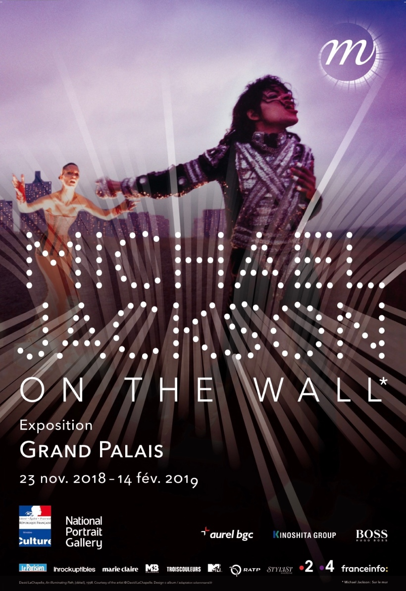 "Affiche de l'exposition Michael Jackson ""On the Wall"" .© Adagp, Paris 2018"