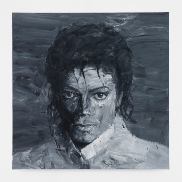 Yan Pei-Ming In Memory of Michael Jackson 1958–2009. © Adagp, Paris 2018