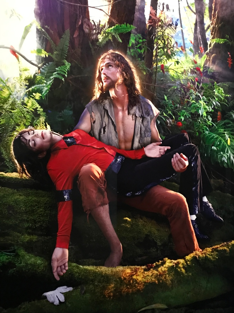 « American Jesus : Hold Me, Carry Me Boldly » by David LaChapelle