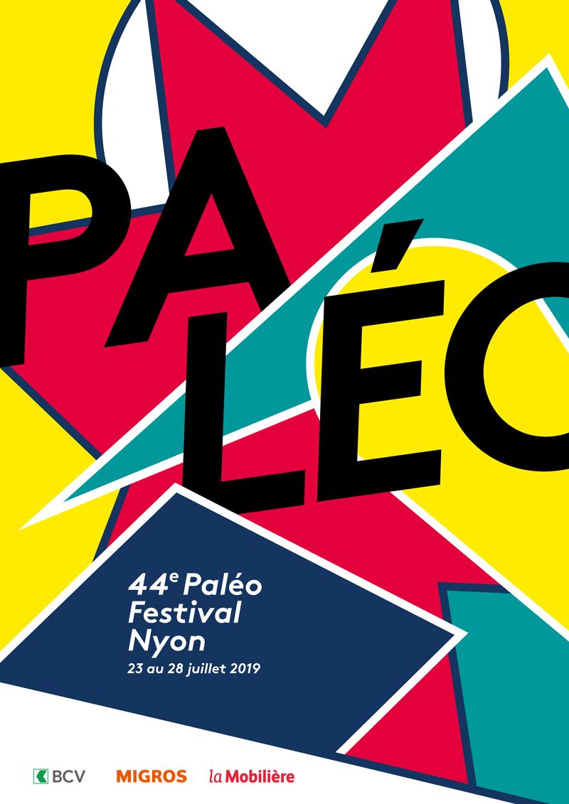 Affiche de la 44e édition du Paléo festival Nyon