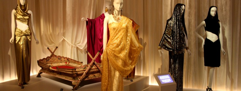 Vue de l'exposition, section Inde