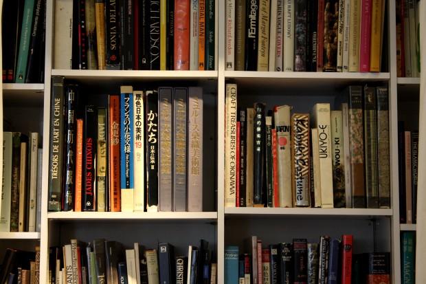 Section Asie dans la bibliothèque