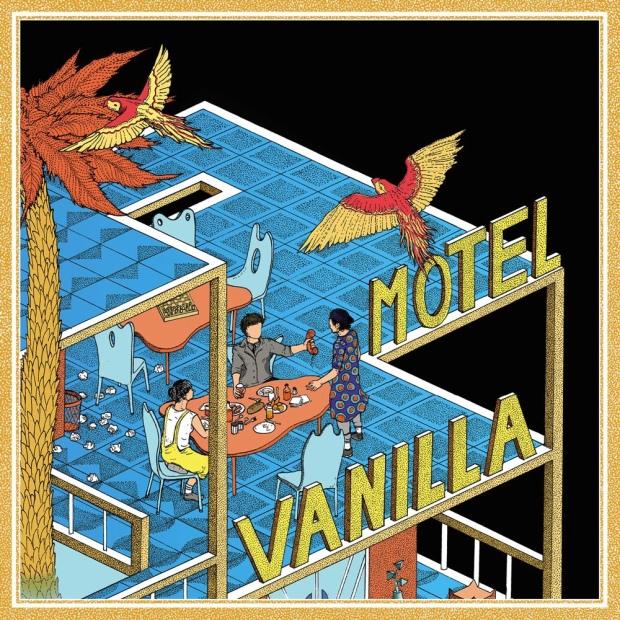 Pochette de l'EP Motel Vanilla