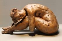 «je prends le pli» Bruno Madelaine. Section sculpture