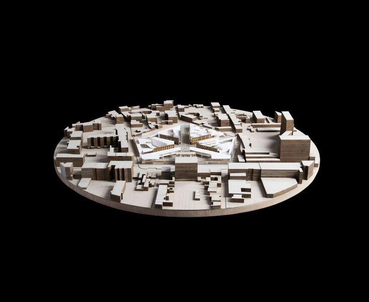 «La mémoire vide», Juliette Pochard. Section architecture