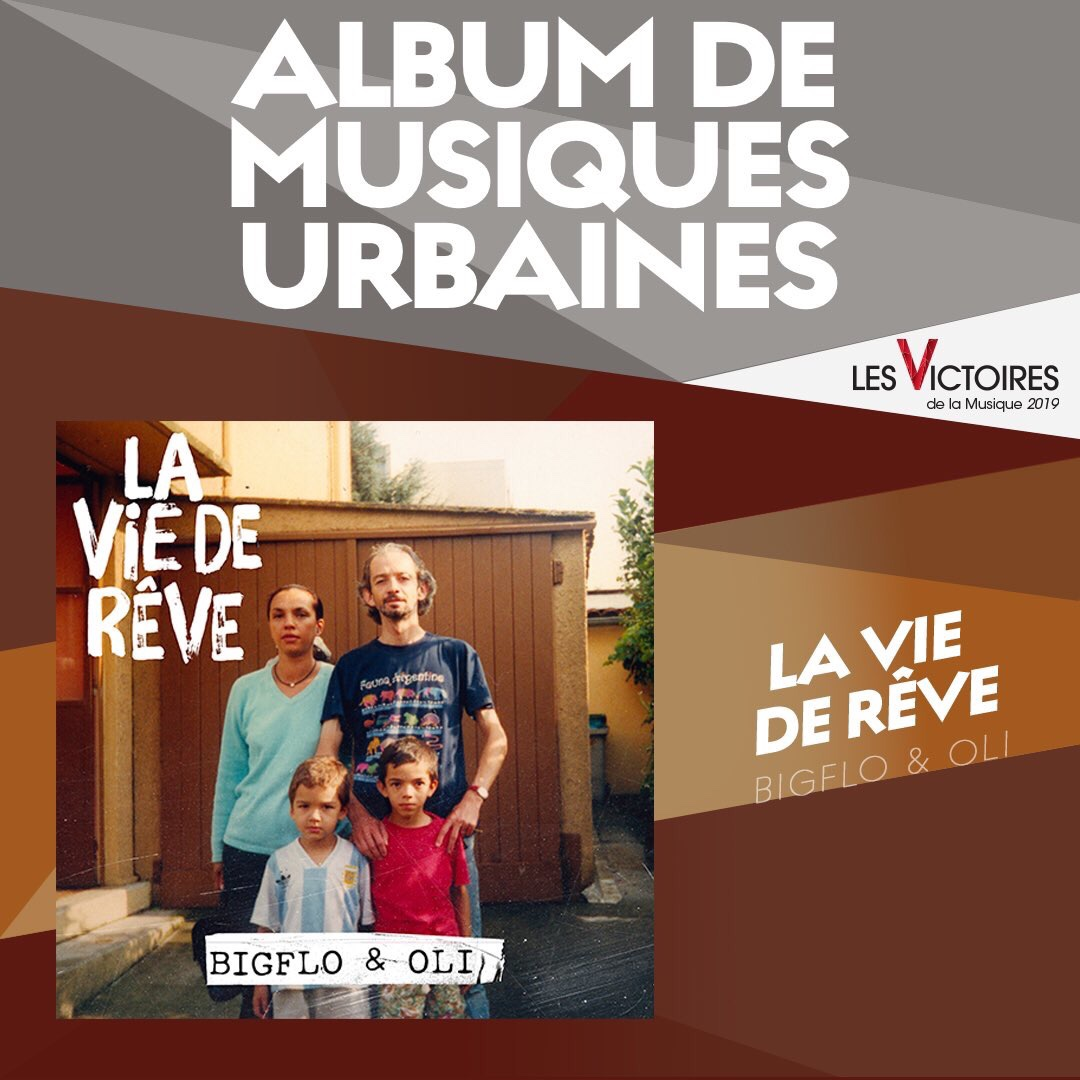 Bigflo et Oli, Album Musiques Urbaines de l'année