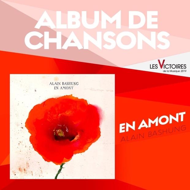 Alain Bashung, Album de Chansons de l'année.