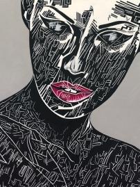 «Portrait cubique de Lana» by Johanna Levy