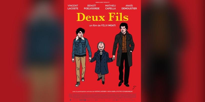 Affiche du film«Deux fils» deFélix Moati. / Le Pacte