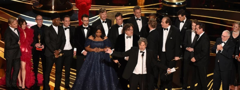 L'équipe du film «Green Book», Oscar 2019 du meilleur film. ©️: Kevin Winter/Getty images