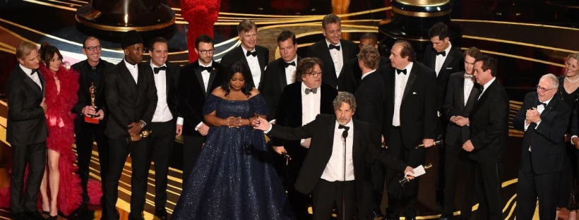 L'équipe du film « Green Book », Oscar 2019 du meilleur film. ©️: Kevin Winter/Getty images