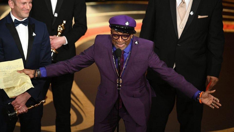 Spike Lee, Oscar 2019 du meilleur scénario.©️: Kevin Winter/Getty Images