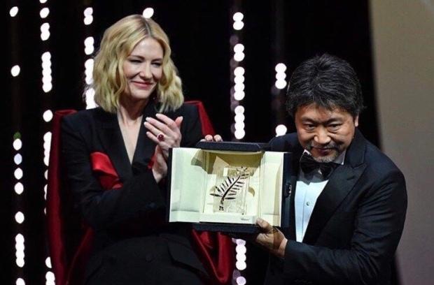 Palme d'or 2018, Une affaire de famille du réalisateur japonais Kore-eda Hirokazu.