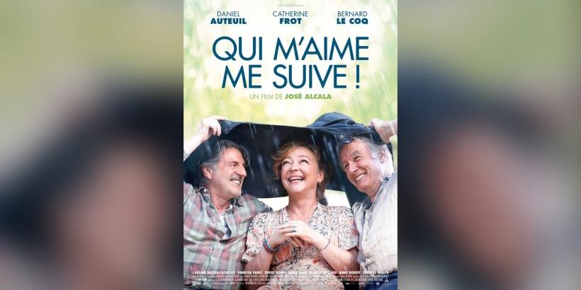 """Affiche du film """"Qui m'aime me suive !"""""""