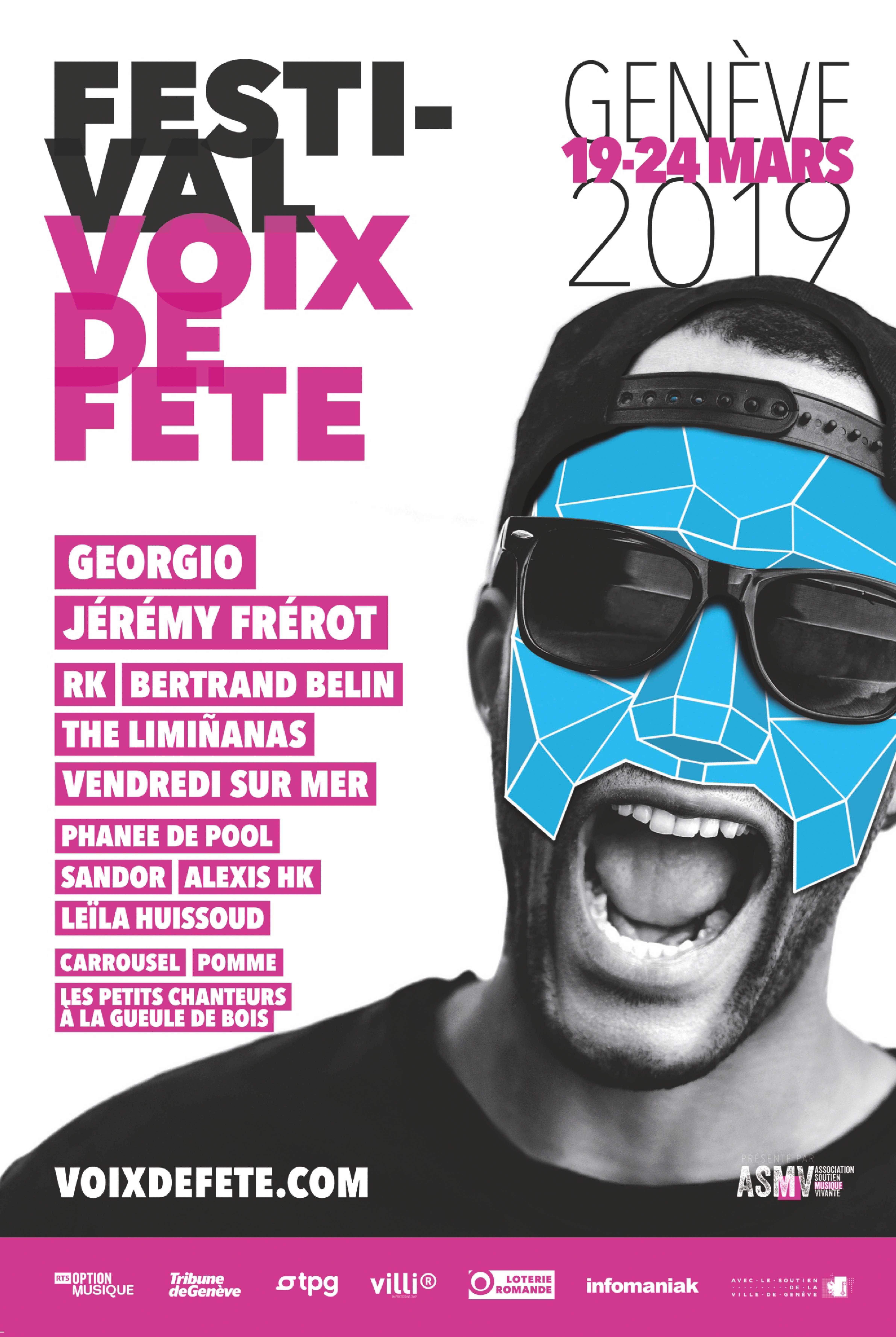 Affiche festival Voix de Fête 2019