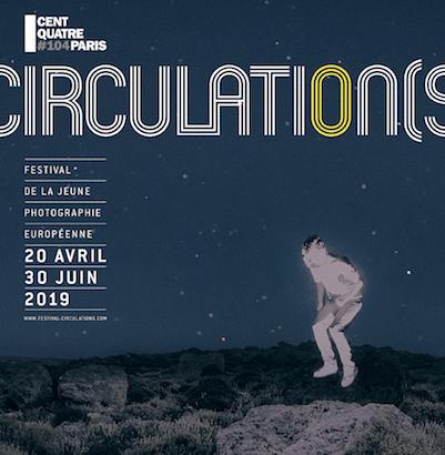 Affiche du festival de la Jeune Photographie Européenne, Circulation(s)