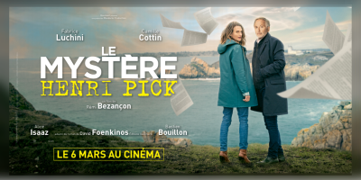 """""""Le Mystère Henri Pick"""" : l'affiche © Gaumont Distribution"""