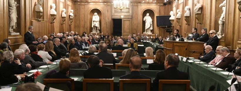 Remise Officielle du Prix Chateaubriand 2018. © CD92/Olivier Ravoire