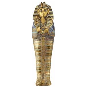 Cercueil miniature canope à l'éffigie de Toutânkhamon.