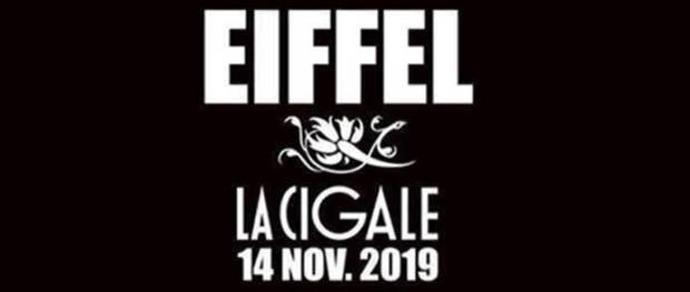 Eiffel à la Cigale le 14 novembre 2019