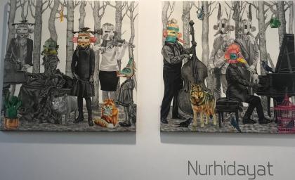 """Fausse Note"" by Nurhidayat."