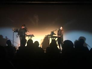 Rayannah et Marjorie, lors de sa prestation au Centre Culturel Canadien à paris le 28 Mars 2019.