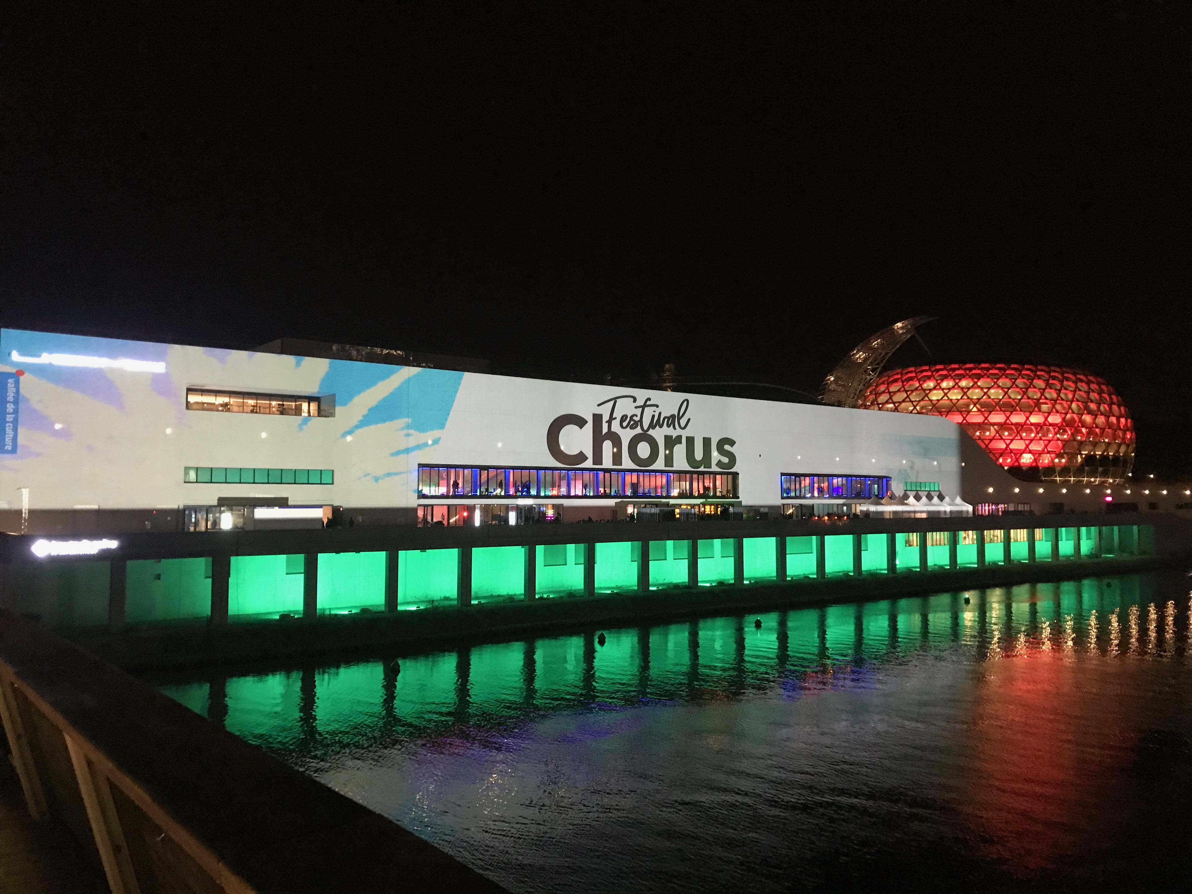 Merci la Seine Musicale et le Festival Chorus. Rdv l'année prochaine