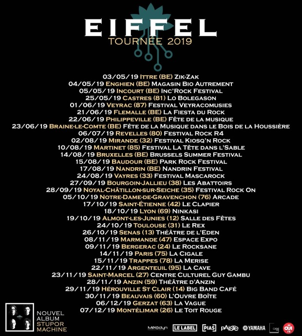 Tournée Eiffel 2019