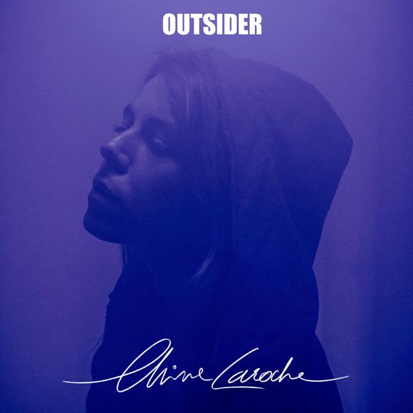 """Chine Laroche, visuel de l'EP """"Outsider"""". © : Dariouche"""