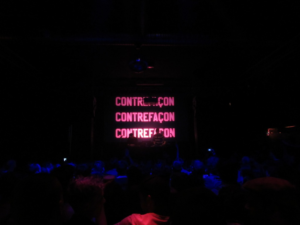 Contrefaçon en concert au Point Ephémère le 15 mai 2019. Photo: @st_xsl1