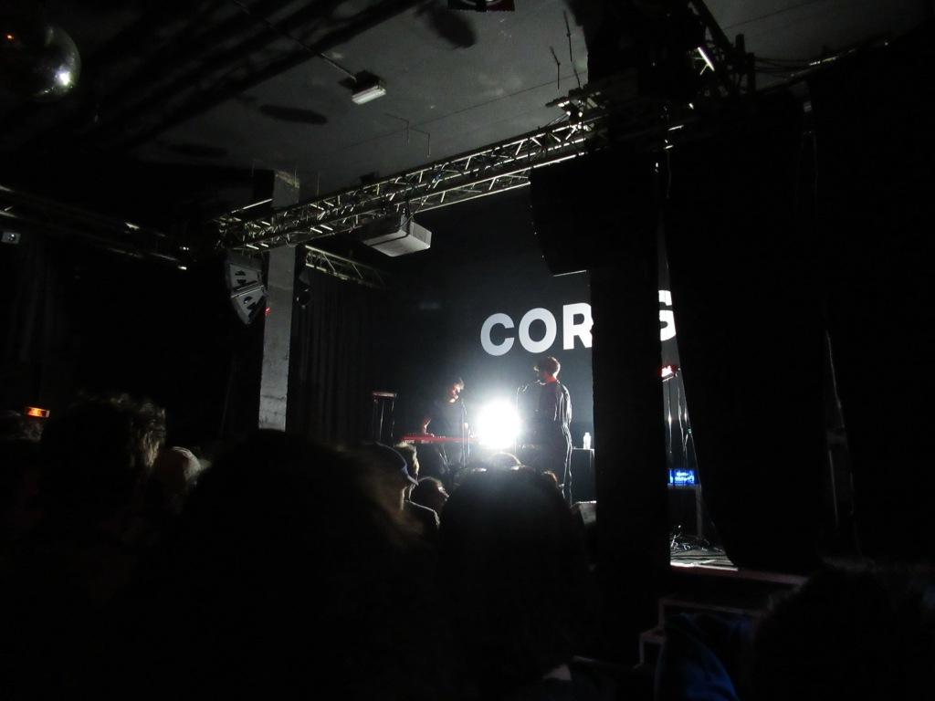 Corps en première partie du concert de Contrefaçon, au Point Ephémère le 15 mai 2019. Photo: @st_xsl1