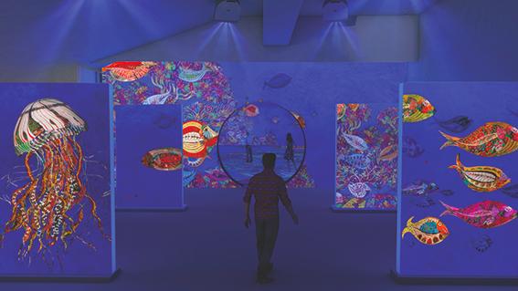 Exposition immersive dans l'univers de Larrieu