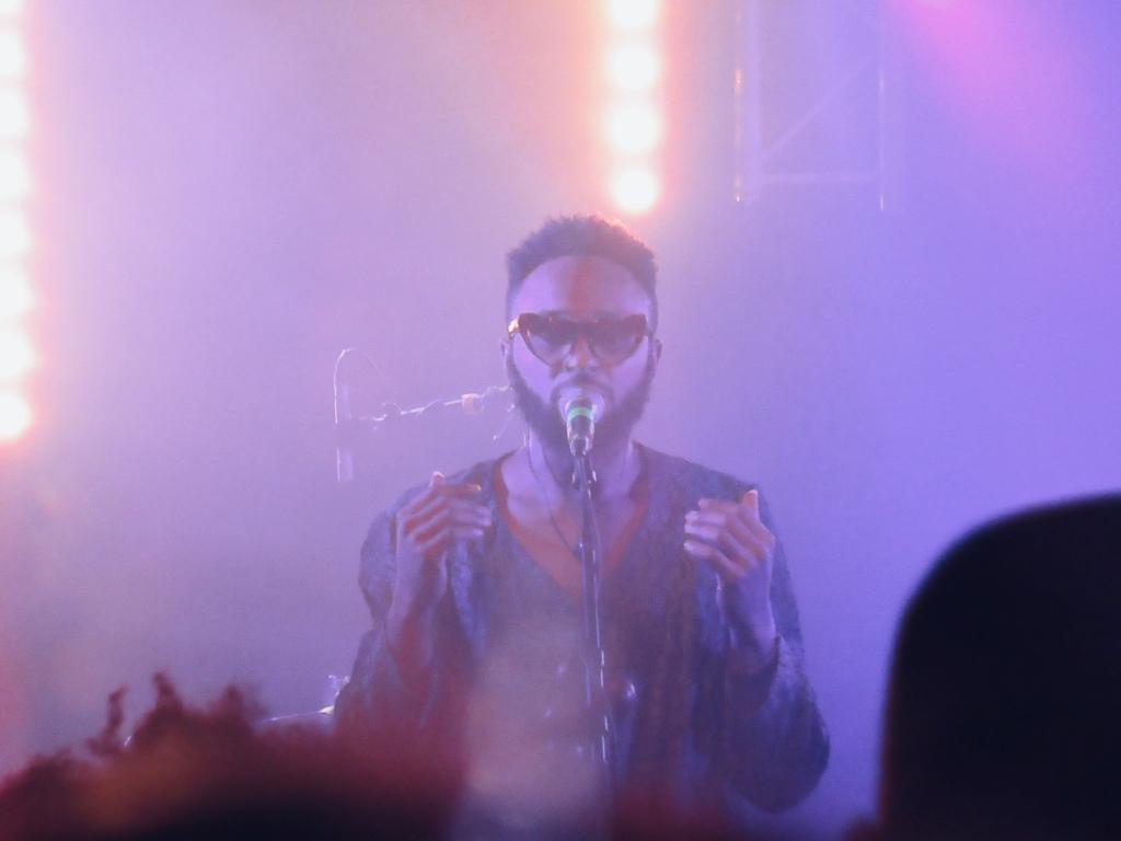Fokn Bois, sur la scène du Badaboum, mardi 21 mai 2019, en 1ère partie de Muthoni Drummer Queen.
