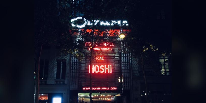Hoshi à l'Olympia, un rêve devenu réalité. Photo: @st_xsl1