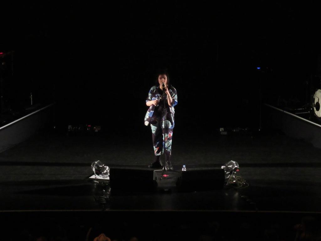 Hoshi à l'Olympia le 14 mai 2019. Photo: @st_xsl1