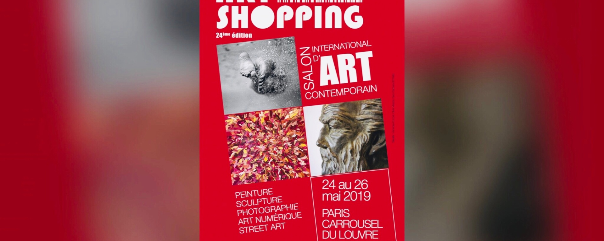 Affiche Art Shopping