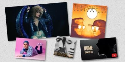 les clips de la semaine #12 avec Corine, Lauv, AqME, Therapetik et RoSaWay