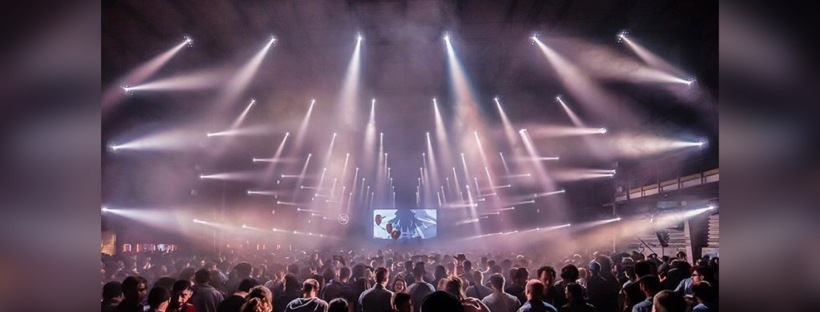 Nuit 1 Festival Nuits Sonores 2019. Photo : Brice Robert