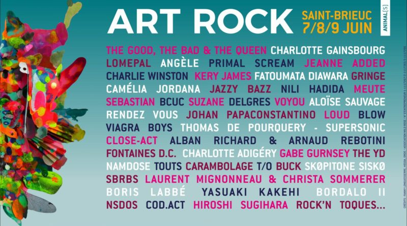 Programmation Art rock 2019