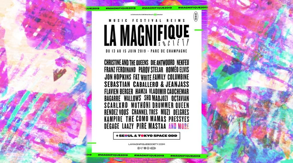 Programmation La Magnifique Society 2019.