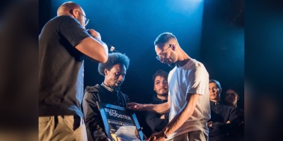 Skow Vainqueur de l'édition 2019 du dispositif Buzz Booster. Photo : Florian Gallène.