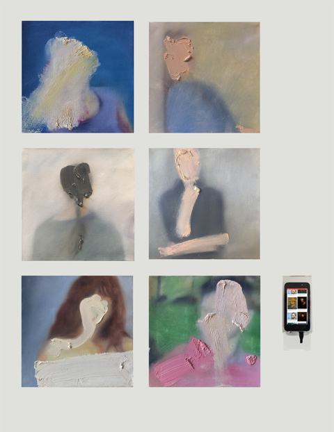 """#zelfportret"", Chuli Herrera."