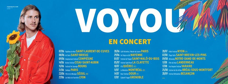 Dates de concerts