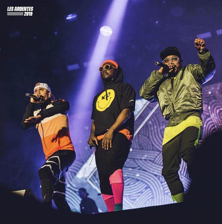 Black Eyed Peas, Les Ardentes 2019. ©: JPB