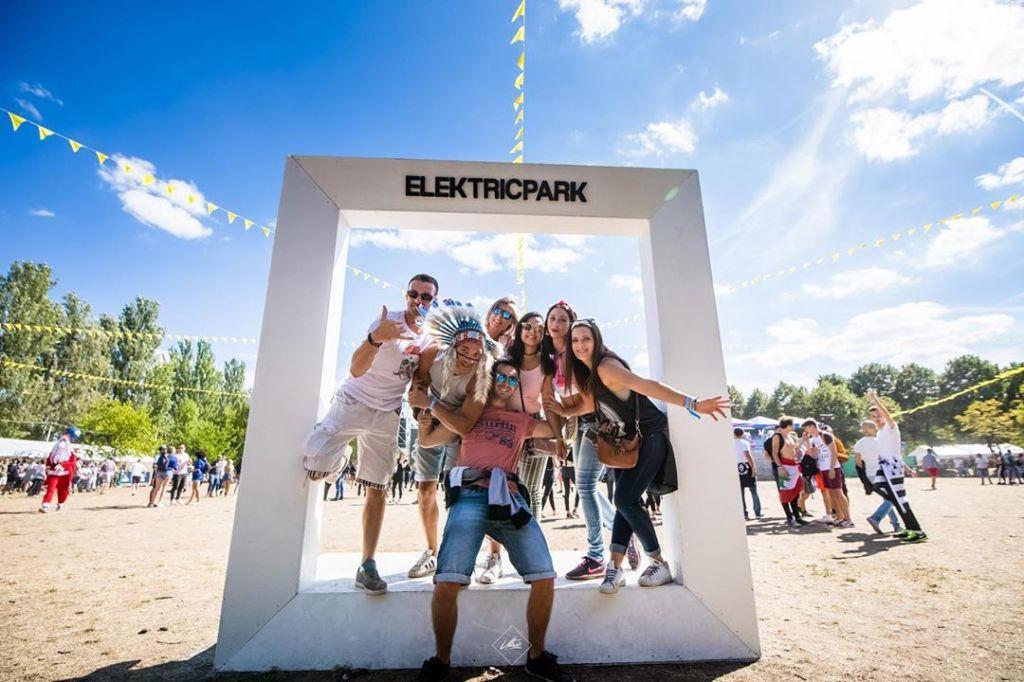 Elektric Park festival, photo d'ambiance