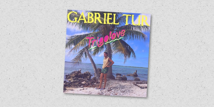 """Cover du """"Trigolove"""", le nouvel singe de Gabriel Tur"""