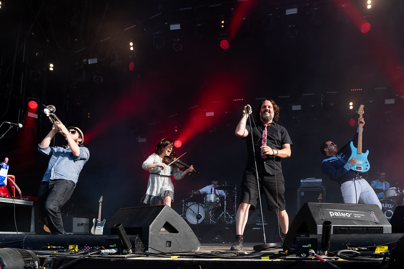 Les Cowboys Fringants, Paléo Festival Nyon 2019. ©: Paléo / Lionel Flusin